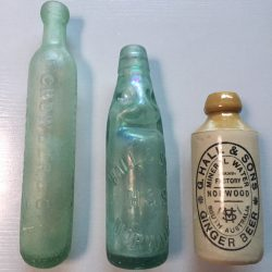 Antique Glass & Bottles