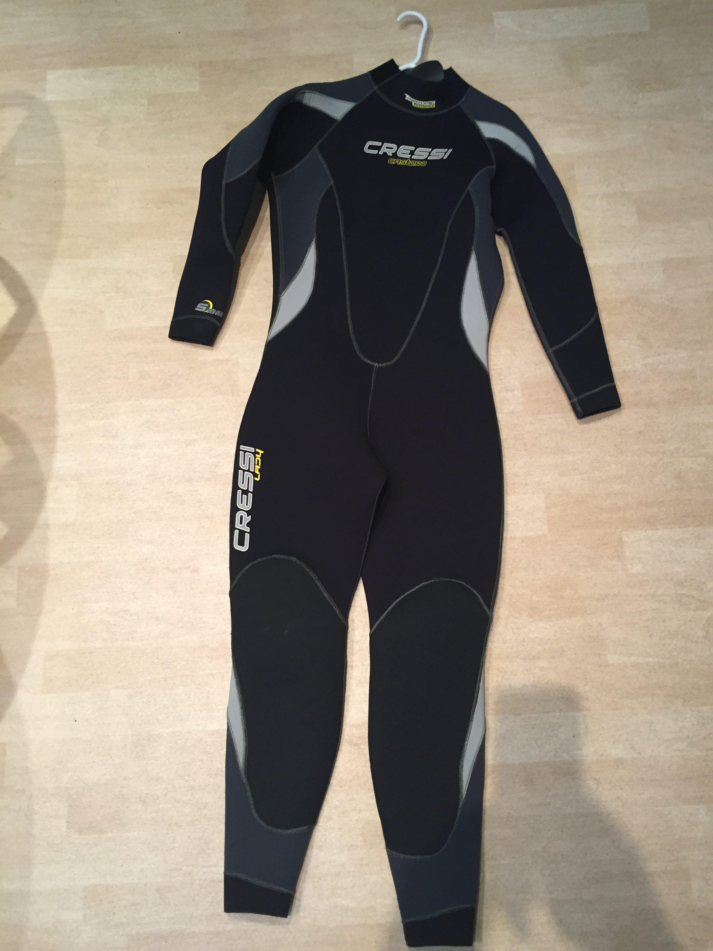 b90c168fe1 Cressi Castoro 5mm wetsuit